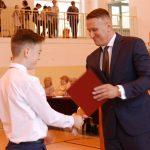 Zakończenie roku szkolnego w Szkole Podstawowej im. Adama Mickiewicza w Bożewie