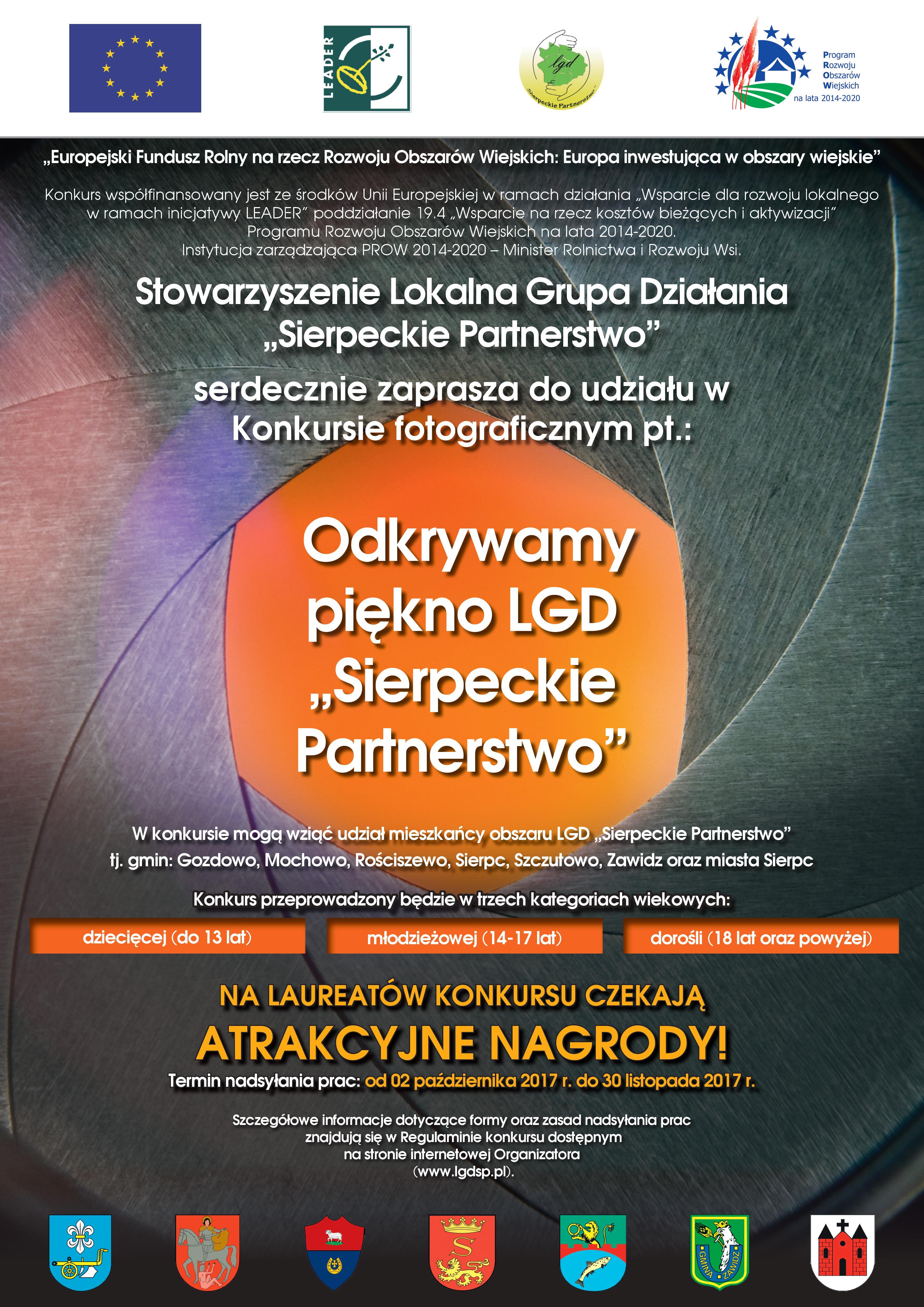 plakat_konkurs_odkryj_piękno_LGDSP