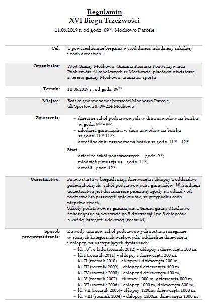 regulamin biegu trzeźwości1