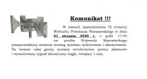 komunikat 27.07.2020