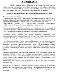 Informacja gops 27.08.2020-2