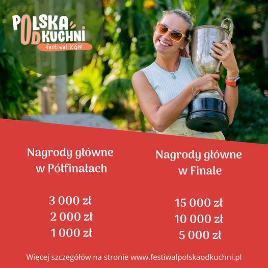 Polska od kuchni informacje o nagrodach